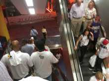 a-bunch-of-miami-heat-fans-left-game-6-early-banged-on-the-doors-to-be-let-back-in-during-overtime