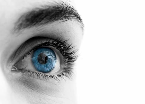 Beautiful female Blue eyes
