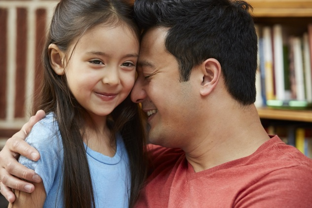 Hug It Out 10 Ways to Show Your Kids You Love Em Through the Power of Touch_Dad and daughter hugging